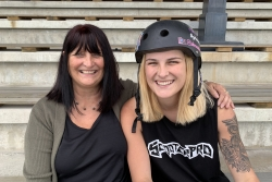 Madsen's Medal - A night of nerves for Mum