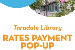 Rates Payment Pop up - Taradale Library