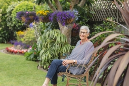 Champion Gardener Yvonne Pitcher
