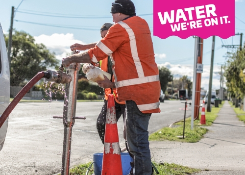 Water Mains Cleaning 2018 7 With Water Badge