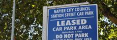 leased parking