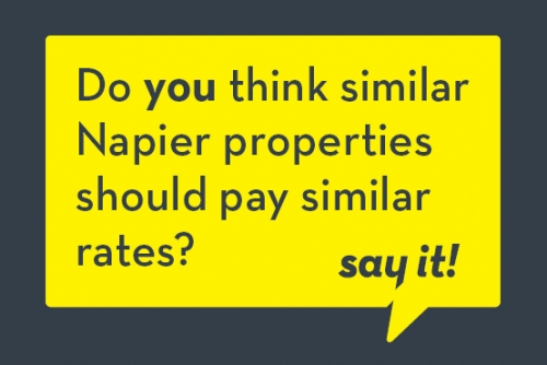 Say it Napier - R&F policy