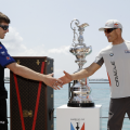 The America's Cup will be welcomed down Marine Parade