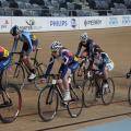 Cambridge School making great use of the Cambridge velodrome.