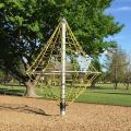 Climbing frame at Anderson Park, installed August 2015.