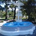 Blythe Memorial Fountain after re-painting was completed.