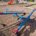 Two See-Saws at Humber Street Reserve Playground.