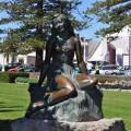 Picture of the Statue of Pania on Marine Parade.
