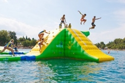 Inflatable water playground example small