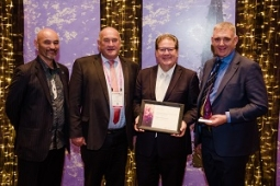 NCC representatives accept the LGNZ award