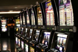 Las Vegas slot machines small