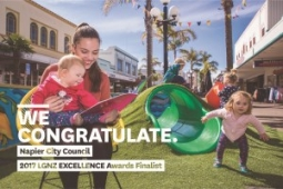 WE CONGRATULATE Napier City Council Napier City Council City Vision Framework 300 x 2