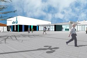 Napier Conference Centre artists impression Marine Pde small