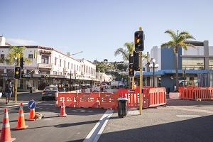 Napier Inner City Upgrade Project Hastings Street Intersection