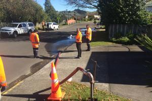 Water Mains Cleaning Programme 2018